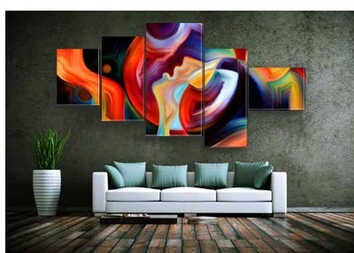 Obraz na płótnie 3d - abstrakcja